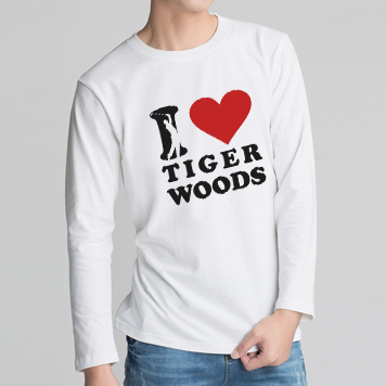 I love tigewr woods